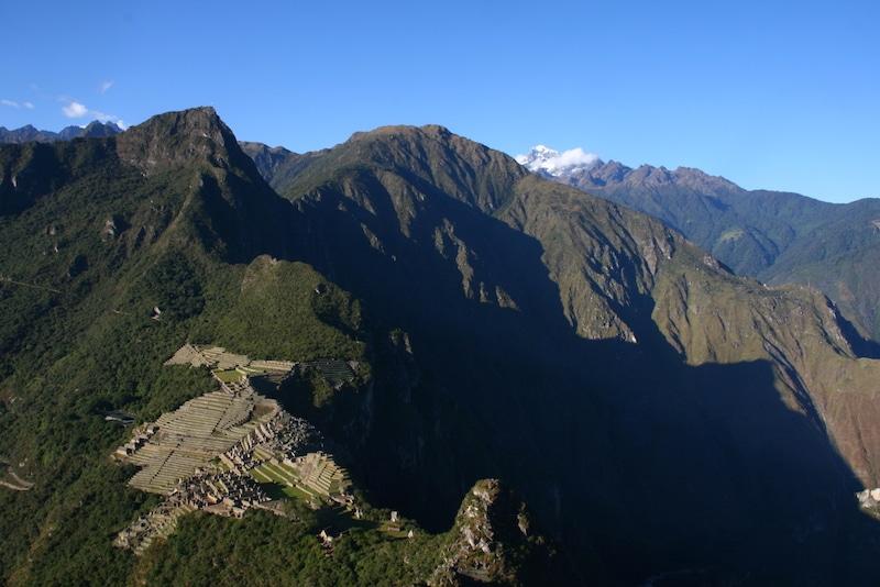 Machu Picchu von oben