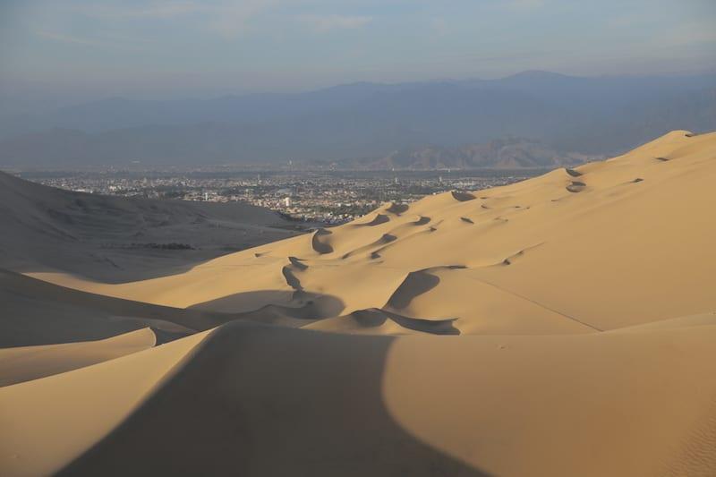 Wüstenlandschaft in Südperu