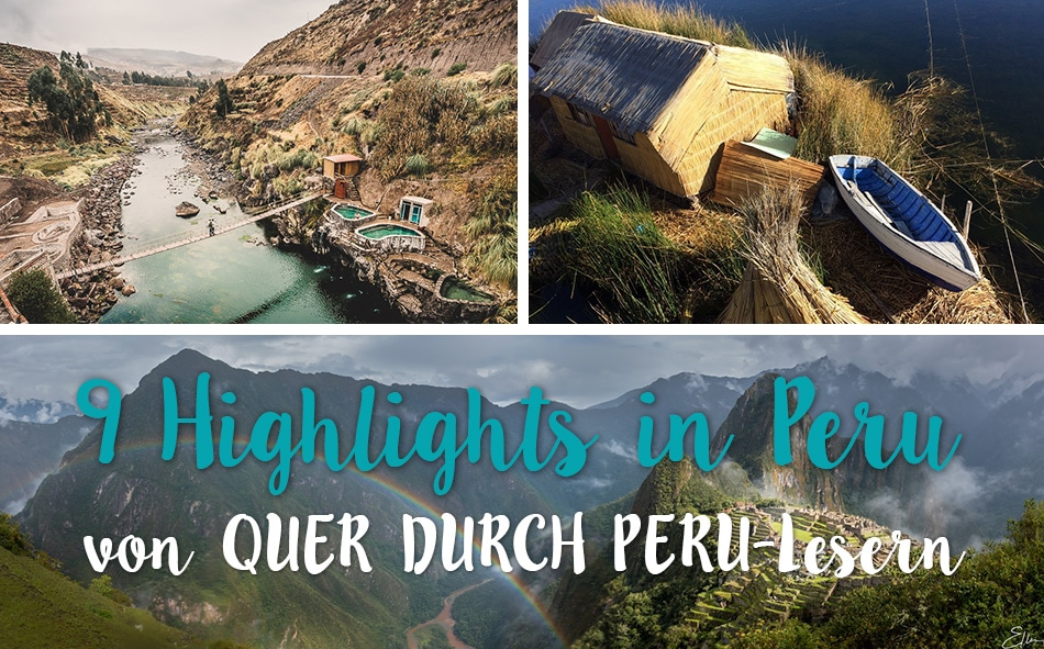 Highlights in Peru