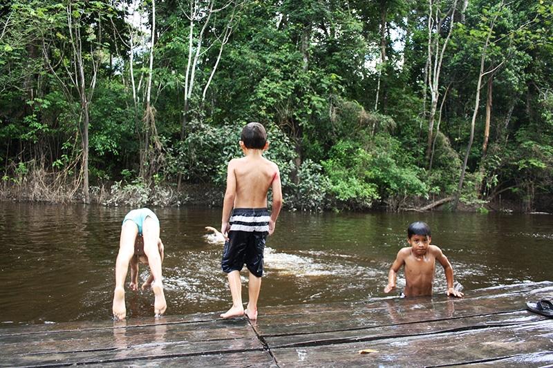 In den Dschungel mit Kindern