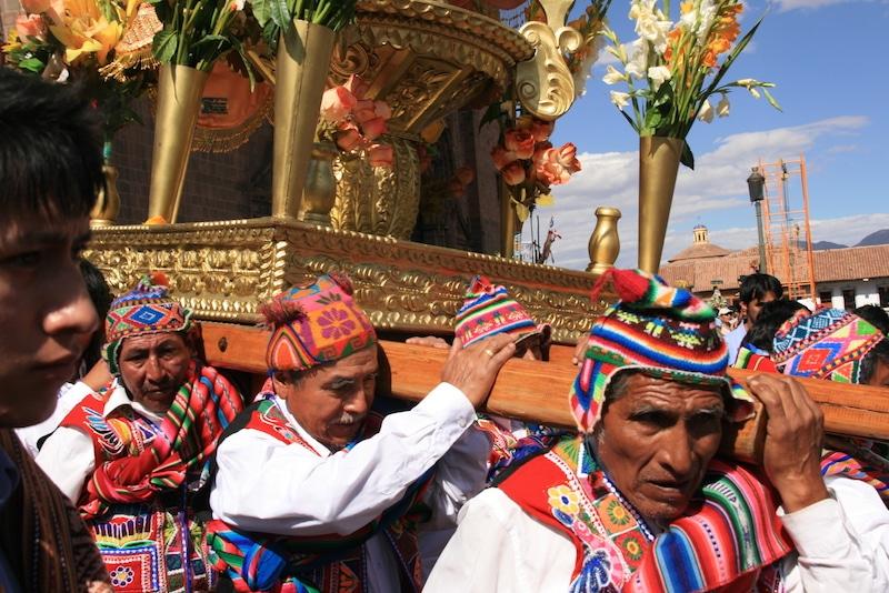 Corpus Christi in Cusco