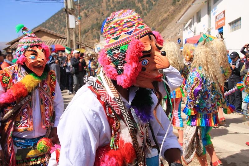 Maskenkarneval in Paucartambo