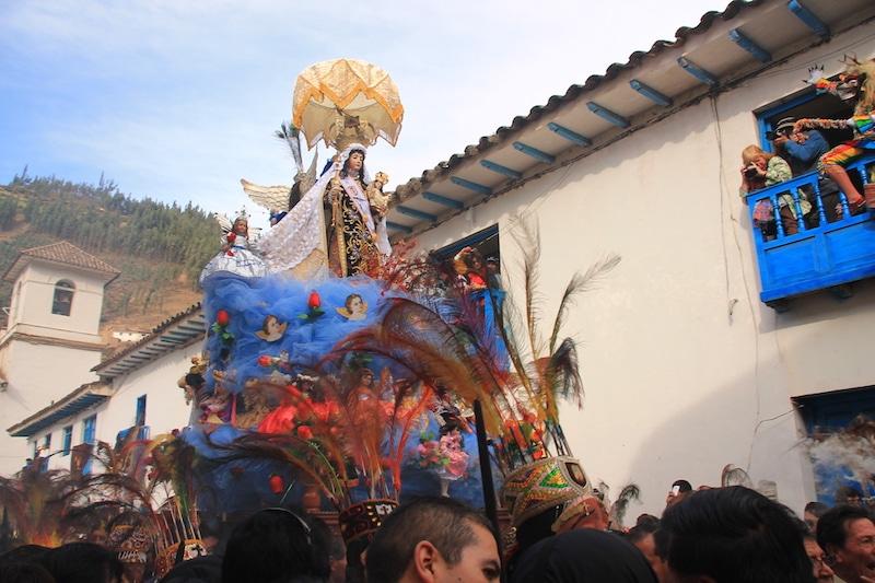 Virgen del Carmen in Paucartambo