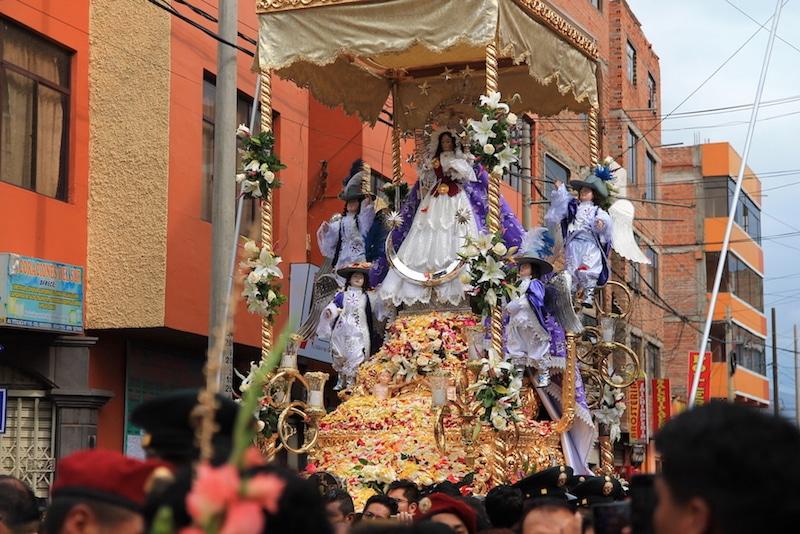 Virgen de la Candelaria in Puno