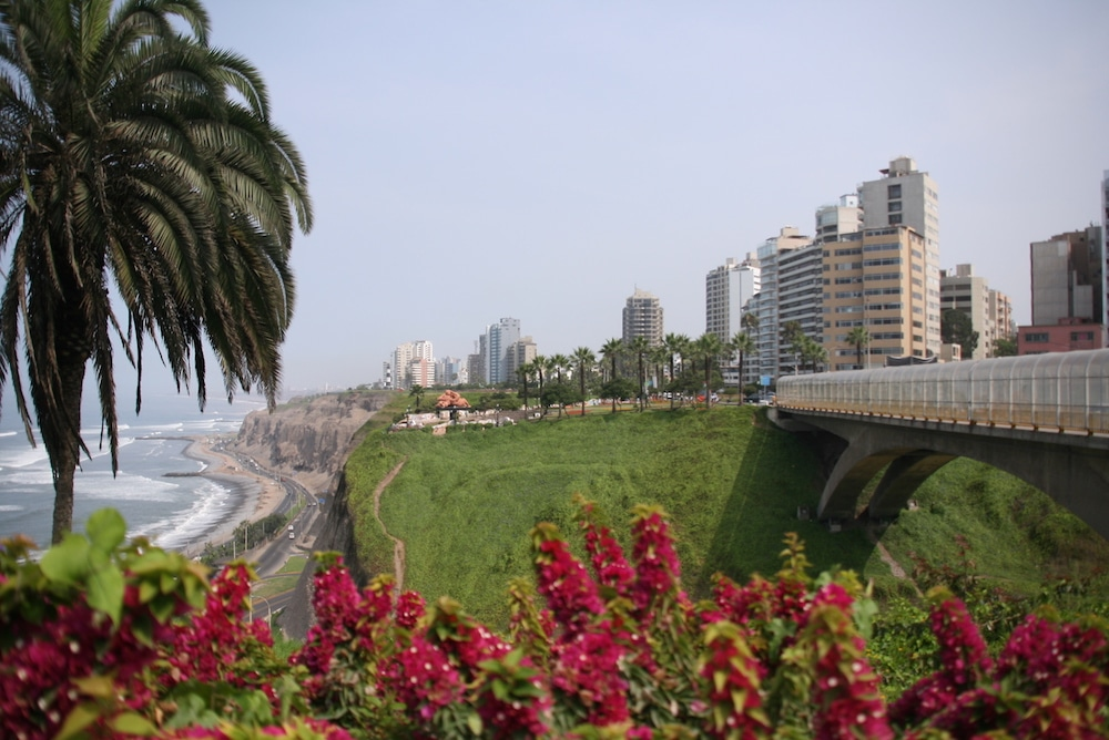 Die Hauptstadt Lima in Peru