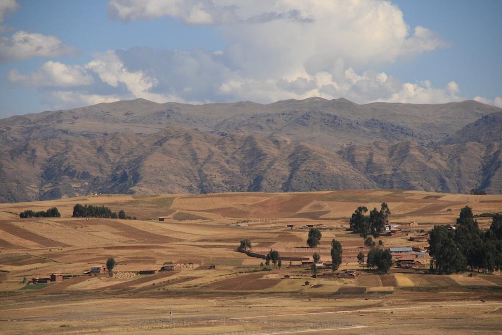 Das heilige Tal in der Trockenzeit
