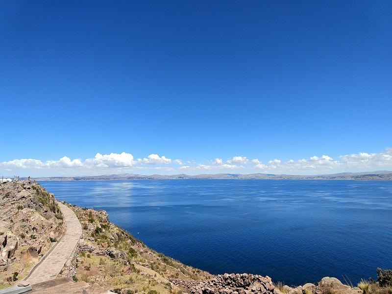 Der peruanische Titicacasee