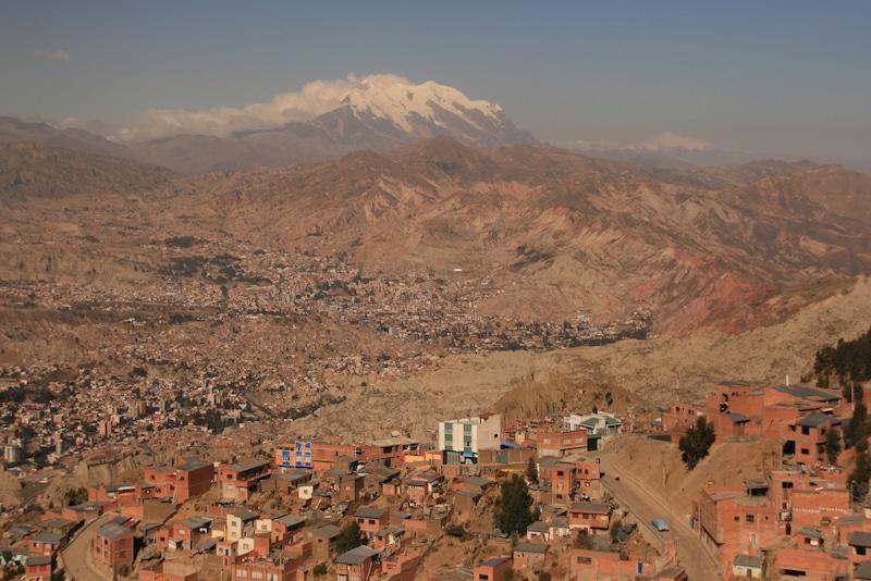 Peru und Bolivien verbinden
