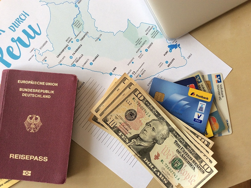 Reisevorbereitung Peru