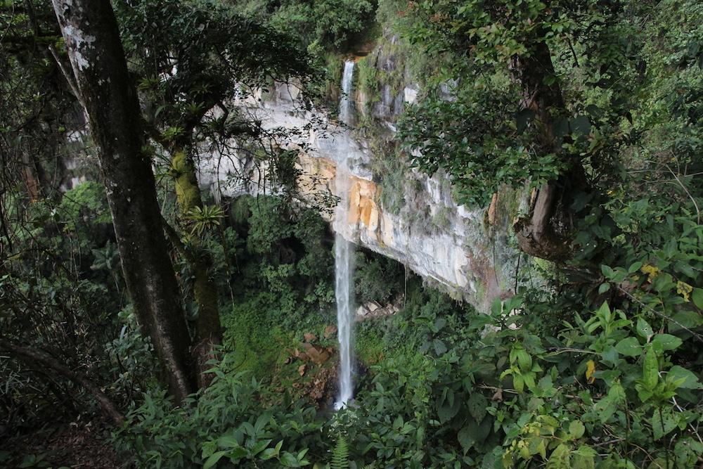 Wasserfall Yumbilla in der Region Amazonas