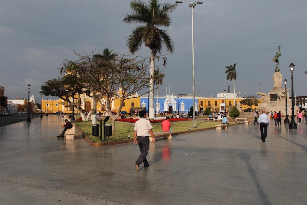 Plaza de Armas von Trujillo