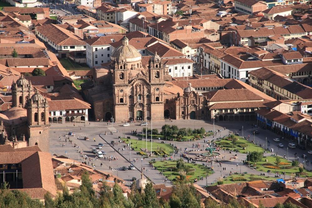 Cusco auf der Karte