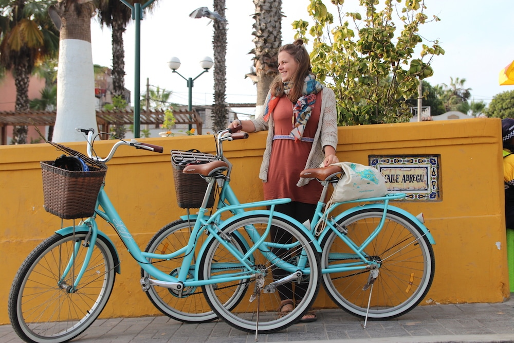 Mit dem Fahrrad quer durch Lima