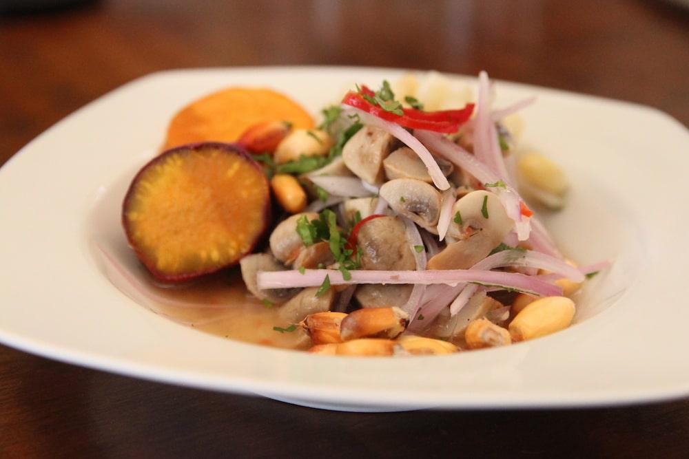 Veganes Ceviche lässt sich einfach selbst zubereiten