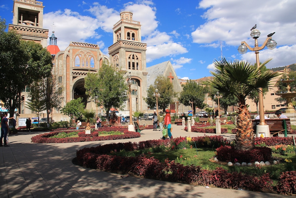 Huaraz in Peru