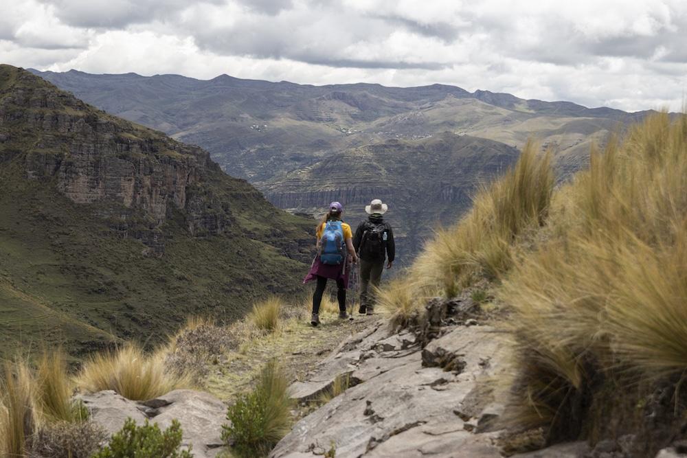 Wandern durch die Anden