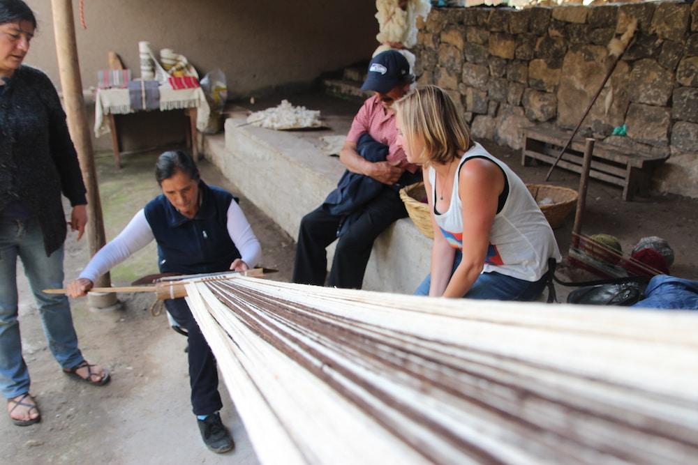 Weberinnen in Leymebamba