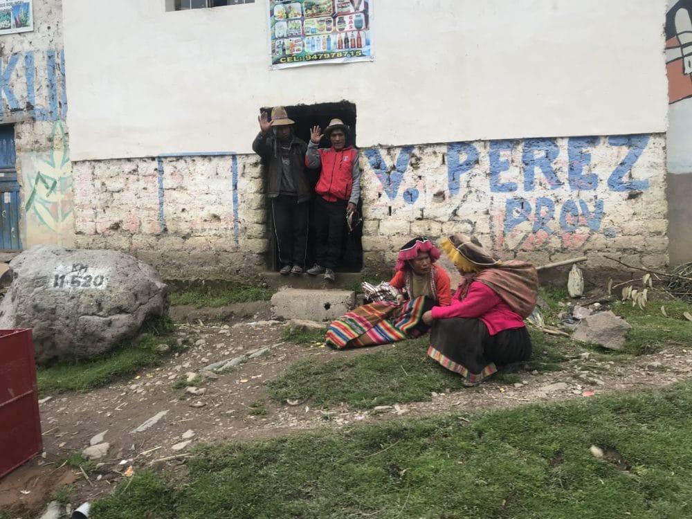 Peru Menschen