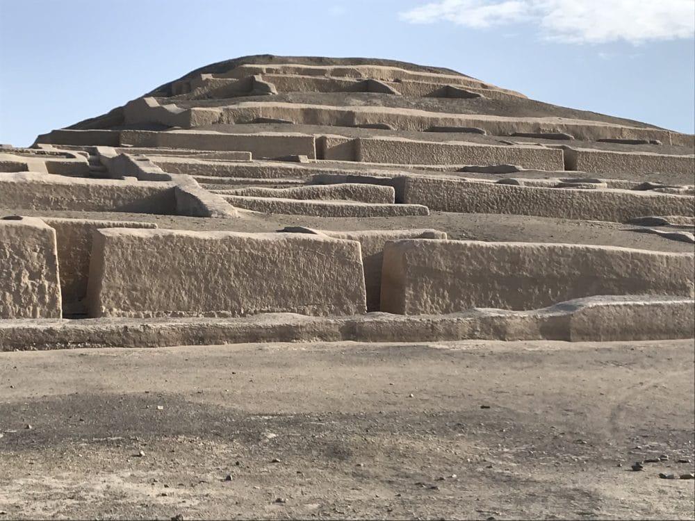 Archäologische Stätte Peru