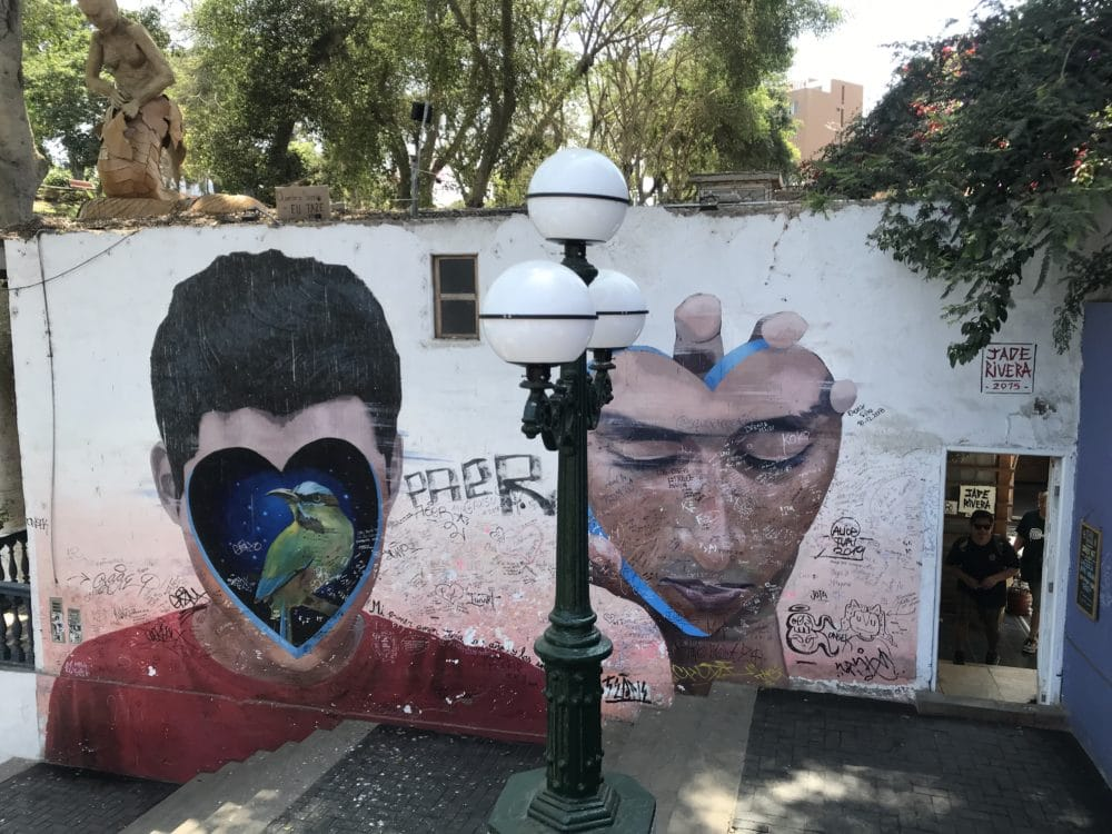 Künstlerviertel Barranco, Lima