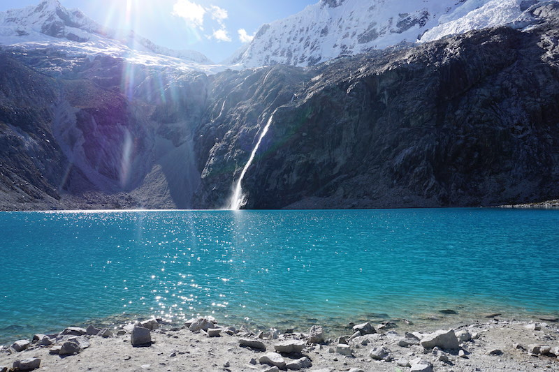 Wanderung zur Laguna 69 im Nationalpark Huascarán