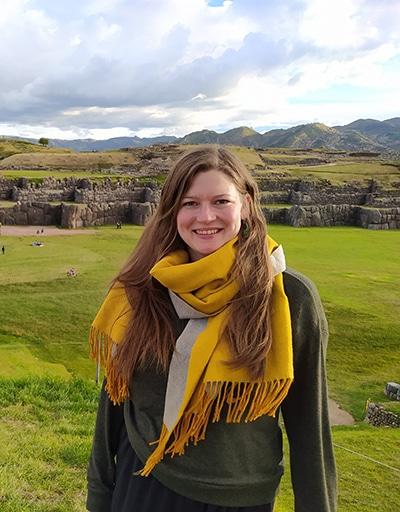 Annika in Cusco
