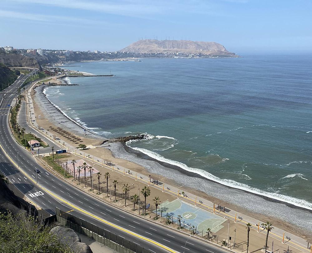 Küste in Lima